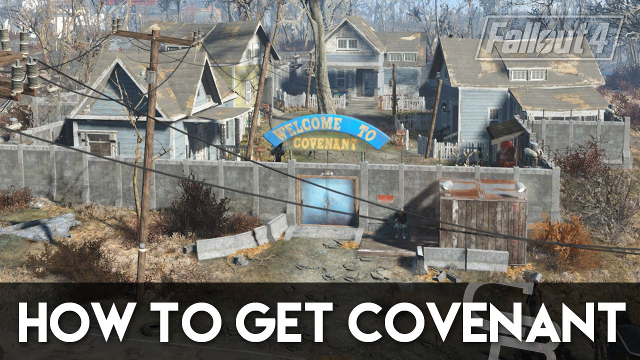 Fallout 4 Where Is Covenant