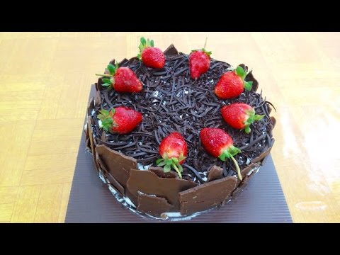 Resep Black Forest Cappuccino | Black Forest Cake with Cappuccino Recipe