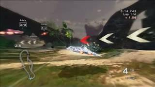 Fatal Inertia EX PlayStation 3 Gameplay - Paradise Isle