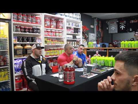 Seminario Nutrición Deportiva, Entreno y Motivación por Manuel Cañadillas, David Pozzi y Marti Pozzi