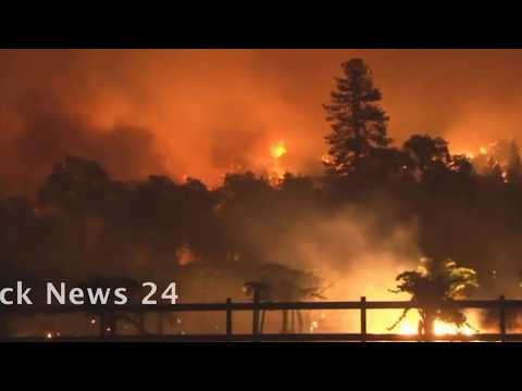 California Fire Still Out of Control    New evacuations ordered for Santa Rosa