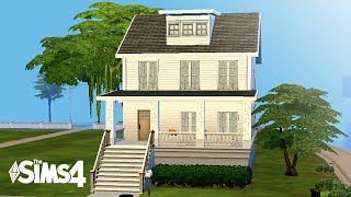 Perfect Starter Family Home #1 • Sims 4 Speed Build