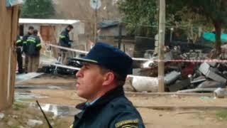 Trágico incendio en una vivienda de Villa Los 40 Guasos