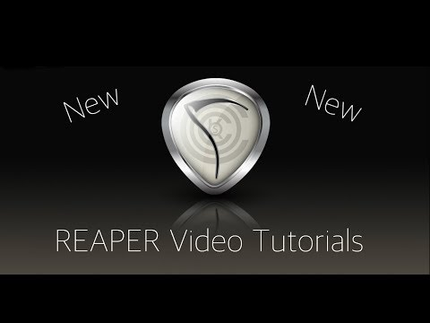 REAPER 5 Explained - 2. Starting a New Project - UPDATED!!!