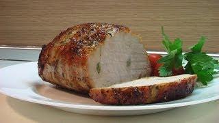 Корейка свиная запеченная. Очень вкусно!