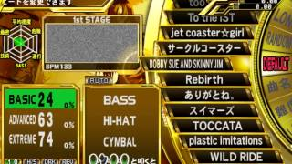 Guitar Freaks DrumMania Masterpiece Gold — Gameplay  {NTSC J} {HD 1080p} {PS2}