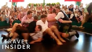 Spinning Ride At Oktoberfest Tests How Sober You Are thumbnail