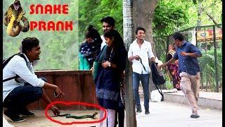 EPIC SNAKE PRANK ( NAGU DEKA HAI MERA ) ~ Prank In India 2017