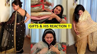 Baby Shower and Birthday Gifts | Tried Something New | Trendy Outfits \u0026 Sarees