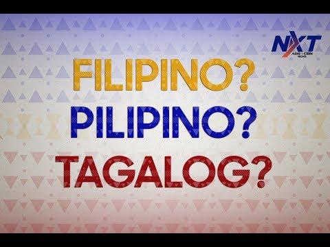Pambansang Wika: Filipino, Pilipino, o baka naman Tagalog?