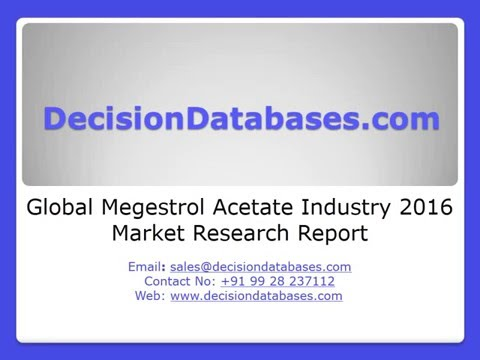 Global Megestrol Acetate Industry 2016 Market Research Report
