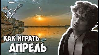 ВИКТОР ЦОЙ - АПРЕЛЬ - КИНО (аккорды на гитаре) Играй, как Бенедикт! Выпуск №89