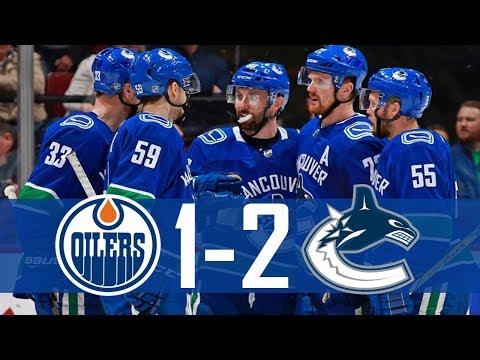 Canucks vs Oilers | Highlights | Mar. 29, 2018 [HD]