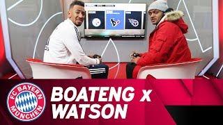 Fifa And Madden Nfl W/ Jérôme Boateng & Nfl Star Deshaun Watson | Ea Sitdown