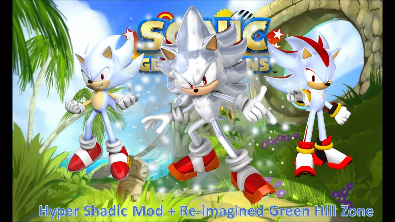 Sonic Generations Mod Part 43_ Re-imagined Green Hill Zone ...