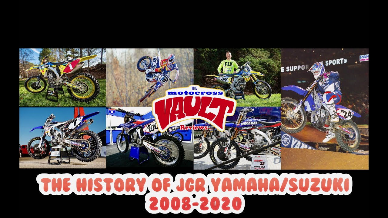 The History Of The JGR Yamaha And Suzuki Motocross Team 2008-2020
