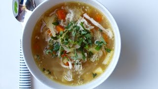 How to make slow cooker chicken soup