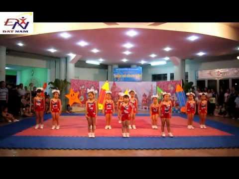 Aaerobic mầm non 2012 - quận 5 -  mầm non Vàng Anh