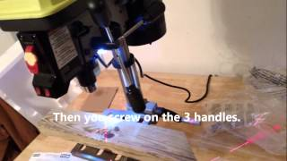 Ryobi Dp103l Drill Press Review / Unboxing