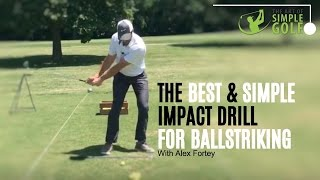 Golf Impact | Best Ballstriking With Pre Set Impact Drill