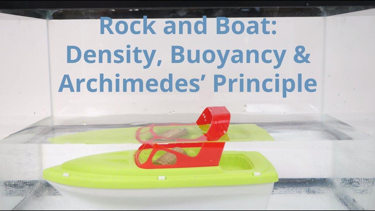 medium resolution of Rock and Boat: Density