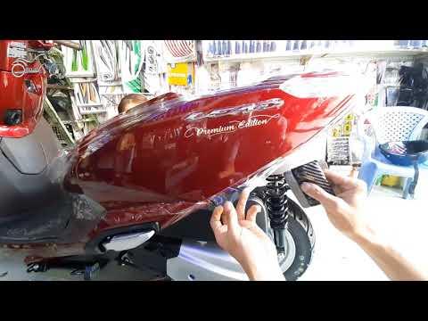 Dán Keo Trong Xe Lead 2020 | Dán Keo Xe Honda LEAD 2020 Màu Đỏ Mận Cực Đẹp