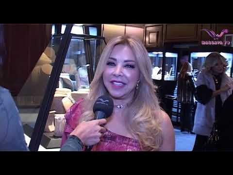 Randa Hamawi jewelery Designer massaya tv dubai by Nader Hachache
