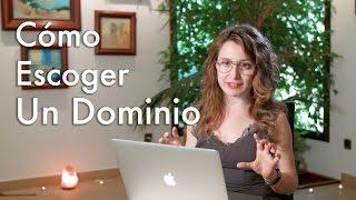 Cómo Escoger Dominio Web