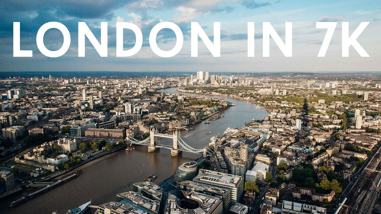 @LONDON Aerial Short featuring 7K Footage from Jason Hawkes