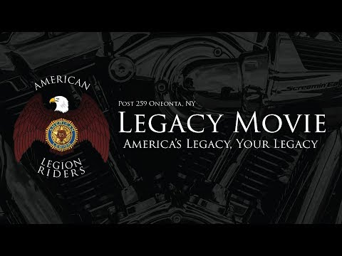 American Legion Riders Post 259 Legacy Movie