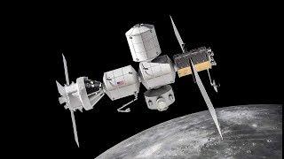 Lockheed Martin Lunar Gateway Animation #IAC2018