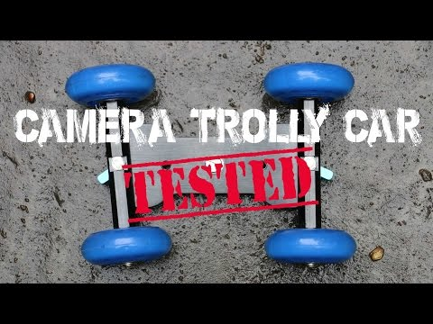 Cheap Camera Dolly Car Skater Stabalizer for gopro or dslr Review!