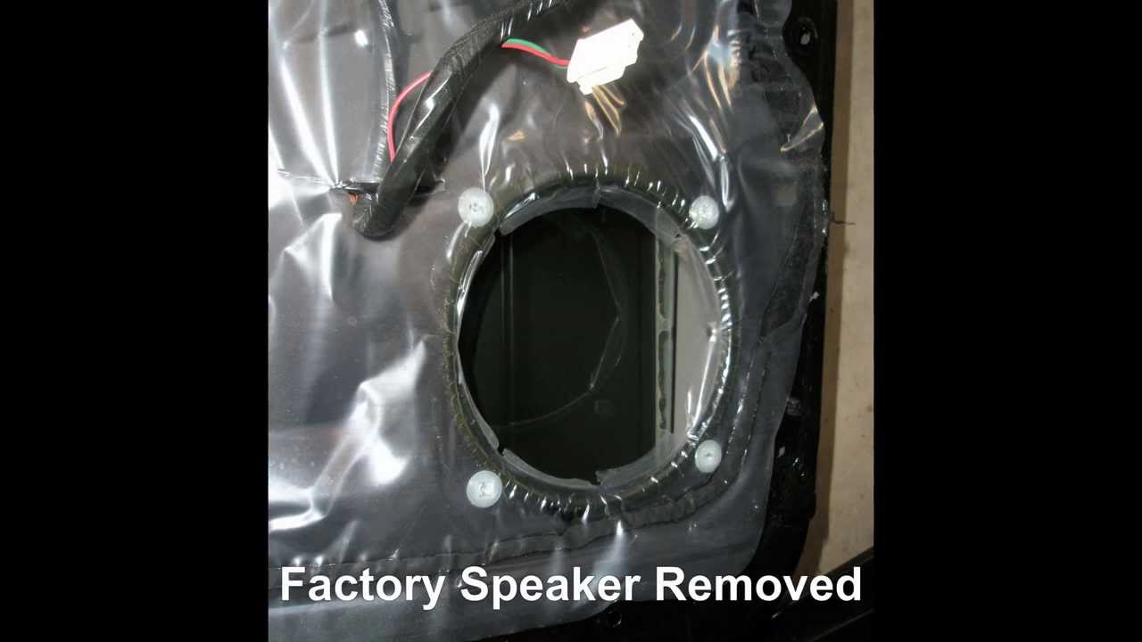 how to replace front door speakers in a mitsubishi lancer youtube. Black Bedroom Furniture Sets. Home Design Ideas