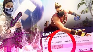 🔴 Partidas personalizadas PRIVADAS!! Jugando con Subs, codigo en el CHAT. FORTNITE BATTLE ROYALE