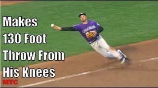 MLB Unbelievably Athletic Plays Part 2