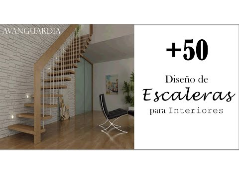 +50 Ideas Diseños de Escaleras Interiores / Decoración de Interiores / AVanguardia