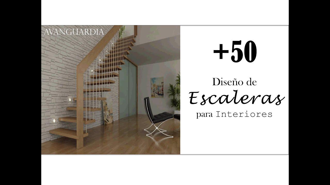 Escaleras modernas 50 ideas dise os de escaleras - Diseno de escaleras interiores ...
