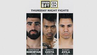 Thursday Night Fights: Mercito Gesta vs Juan Rodriguez (Promo)