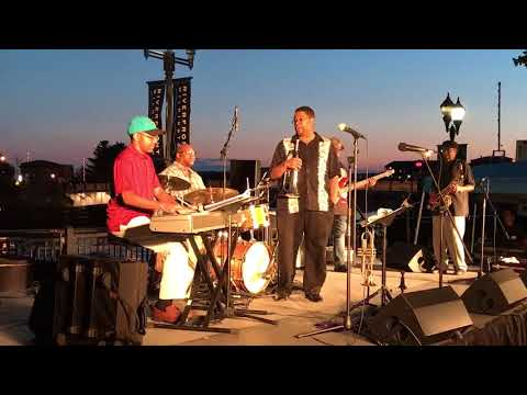 Preston Jamming with Gerald Chevis Band