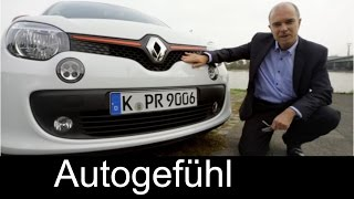 2015 all-new Renault Twingo test drive REVIEW of the smart forfour twin - Autogefühl