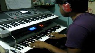 aaj ki raat-Don Indian instrumental (keyboard cover) played by Subhranil