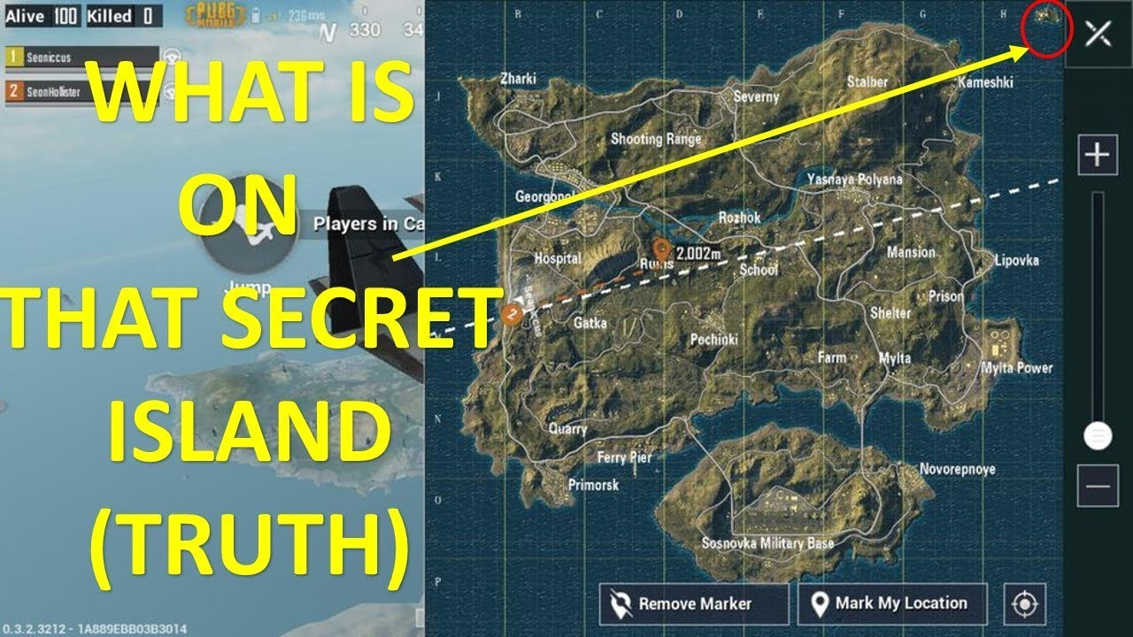 New Pubg Map Is Coming By July: PUBG Secret Island Reality Erangel Map