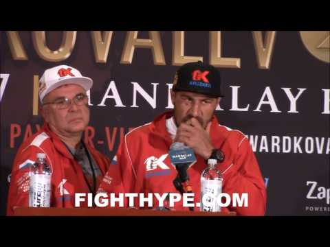 "KOVALEV IN SERIOUS DENIAL AND REFUSES TO ADMIT HE WAS HURT; BLAMES ""DIRTY"" WARD AND BAD STOPPAGE"