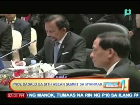 News@1: Pangulong Aquino, dadalo sa 24th ASEAN Summit sa Myanmar  || May 7, 2014