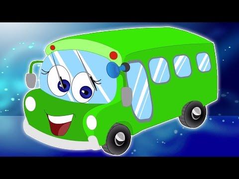 Колеса на автобусе | сборник для детей | Популярный детский стишок | Wheels on the Bus