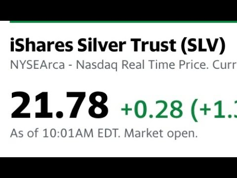 Why is $LV trading $1.78 lower than COMEX Silver?