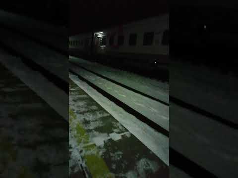 Станция Гмелинская. Поезд Астрахань-Нижневартовск