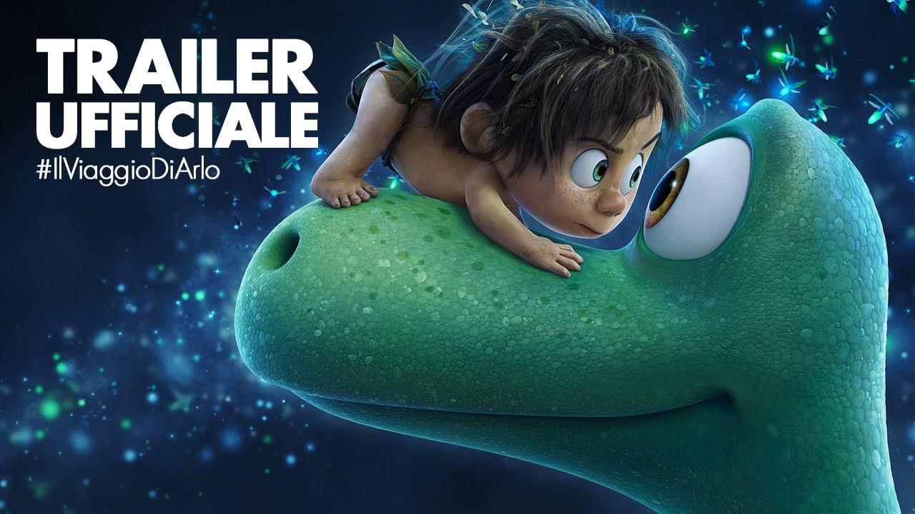 Disney pixar il viaggio di arlo nuovo trailer ufficiale