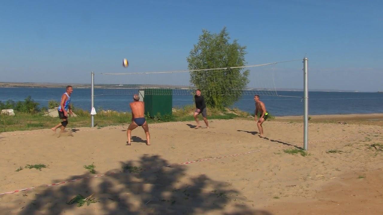 первенство района по пляжному волейболу