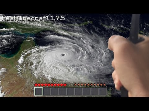 Real Life Minecraft - TROPICAL CYCLONE